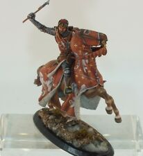 Niena Studio St.Petersburg  54 mm Tin HQ Painted. The Knight mounted with an axe