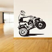 Wall Vinyl Sticker Bedroom Decal Quad Chopper Moto Motorcycle ATV (Z1499)