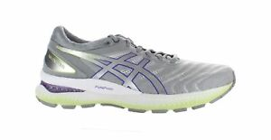 ASICS Womens Gel-Nimbus 22 White/Pure Silver Running Shoes Size 10 (1928608)
