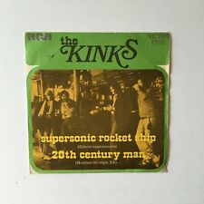 The Kinks ‎– Supersonic Rocket Ship, Vinyl, 7, Spain, 1972,  3-10729.