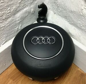 Genuine Audi TT MK2 8J steering wheel driver centre bag 8J0880201.  S3 8P etc F6