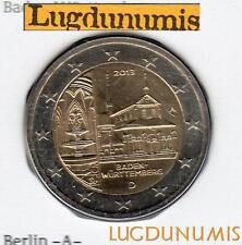 Allemagne 2013 2 Euro A Berlin FDC Monastère Maulbronn coffret BU 40000 exemplai