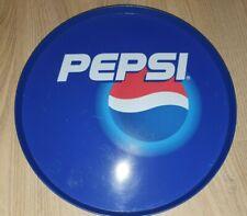 "More details for vintage pepsi drinks serving tray plastic 1990's 12"" retro bar"