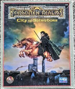 Forgotten Realms Campaign Expansion City of Splendors AD&D 2nd Edition