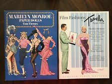 Film Fashions by Travilla Paper Dolls Marilyn Monroe - Two (2) paper doll books