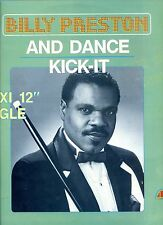 BILLY PRESTON and dance /  kick-it 12INCH 45 RPM BELGIUM 1984 EX