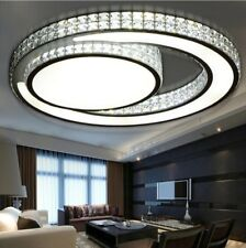 Ceiling Lights LED Modern Bedroom Crystal Lampshade Living Room Ceiling Lights