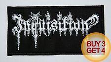 INQUISITION PATCH,BUY3GET4,JUDAS ISCARIOT,MOONBLOOD,MAYHEM,IMMORTAL,BLACK METAL
