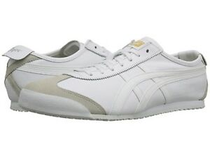 ONITSUKA TIGER DL408.0101 MEXICO 66 Mn's (M) White Leather Lifestyle Shoes