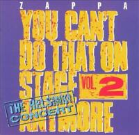 FRANK ZAPPA - YOU CAN'T DO THAT ON STAGE ANYMORE, VOL. 2 NEW CD