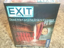 EXIT: The Game Dead Man on Orient Express Thames & Kosmos Games Board Game New!