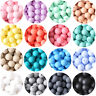 15mm Round BPA Free Baby Silicone Teething Beads DIY Chewable Teether Jewelry
