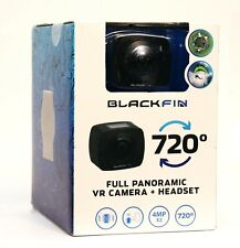 NEW Black Fin 720 Full Panoramic VR Camera & Headset BF-720AM BlackFin NIB