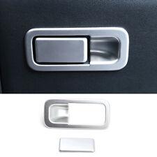 For Kia Sportage 2017 2020 Chrome Glove Box Door Handle Cover Trim Overlay Bezel