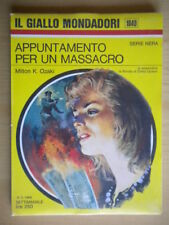 Appuntamento per un massacroOzaki Milton Mondadori1969giallo1049nera 222