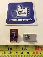 Montreal Canadiens Retired Banner Pin - Épinglette Howie Morenz #7 Jersey Habs
