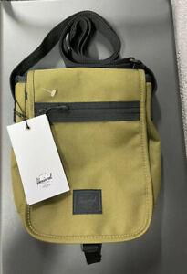Herschel Lane S 3.5 Litre Shoulder Carry Crossbody Bag Khaki Green Olive