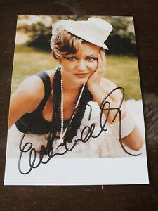 Ella Endlich - Autogrammkarte - original unterschrieben
