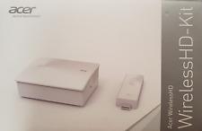 Acer Projektor Wireless HD Kit Plug & Play Full HD Übertragung 3D Streaming OVP
