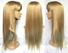 CHWJ860  vogue straight blonde mix long hair wigs for women wig