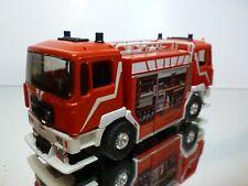 ELIGOR BAI MAN TRUCK DOUBLE CABIN - FIRE BRIGADE MONT BLANC - RED 1:43 RARE
