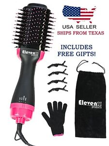 Hot Air Brush Dryer Negative Ion One Step hair dryer and volumizer