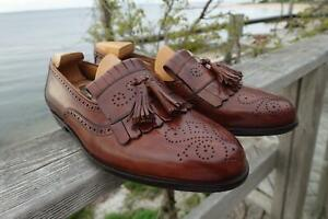 Cole Haan Bragano Tassel Loafers 11 Excellent Made in Italy