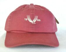 *VALHALLA GOLF CLUB 1986* GOLF HAT CAP *AHEAD HEADGEAR USA* TOP 100 Mid Fit