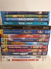 10x DVD / 4x BluRay Sammlung Walt Disney / Pixar / Steelbook