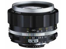 New Voigtlander Nokton 58mm F1.4 SL II S Silver Nikon F Ais Ai Auto-Topcor