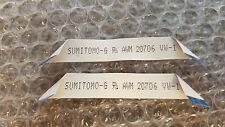 "SUMITOMO-G AWM 20706 VW-1 SET (2) 26 PIN 3-3/4"" LONG 1/2"" WIDE CABLE FREE SHIP"