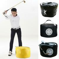 Golf Hitting Bag Swing Aid Practice Impact Contact Power Smash Practice Bag
