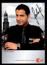 Serhat Cokgezen Notruf Hafenkante Autogrammkarte Original Signiert ## BC 45480