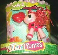 Lalaloopsy Ponies Lady B. Little Pony Plush Lady Bug Pink *New* L@K!