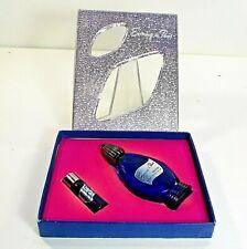 EVENING IN PARIS BOURJIOS set box cologne ½oz empty, perfume blue bottle ʱ o2