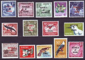 Nauru 1968 SC 72-85 MNH Set Independence