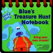 Blue's Treasure Hunt Notebook (Blue's Clues) Santomero, Angela C. Board book