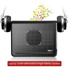 "USB Fan Cooling Cooler Pad with Dual Speaker for 12""-16"" Laptop Notebook PC"