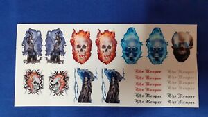 1:50 Scale Clear Waterslide Decals, The Reaper Code 3 Decals. Auction