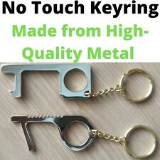 NO TOUCH KEYRING - Door opener and Button Pusher Hygienic EDC Tool Key- UK STOCK