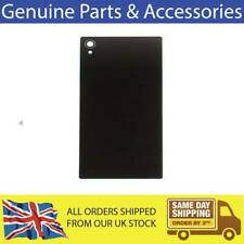 FOR SONY XPERIA Z1 REAR BATTERY BACK COVER GLASS BLACK REPLACEMENT UK