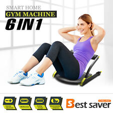 6IN1 Core AB Machine Total Fitness Smart Abs Exercise Workout Home Gym Equipment