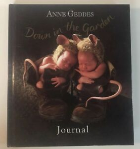 Anne Geddes Down in the Garden Hard Cover Journal Booklet