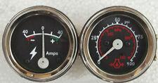 MF Oliver  Molins , White Tractors Oil Pressure Gauge+ Ammeter