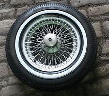 4 x Weisswandringe 14 Zoll schwarz/weiß Mercedes W 114 115 108 109 116 123 107