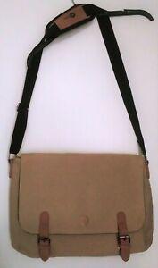Mi-Pac beige men's shoulder crossbody bag