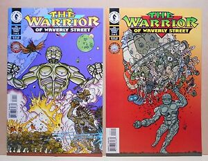 THE WARRIOR OF WAVERLY STREET #1-#2 Complete DARK HORSE 9.2 NM- Uncertified