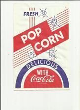 COCA-COLA  POP CORN BAG DELICIOUS WITH COCA-COLA  (D)