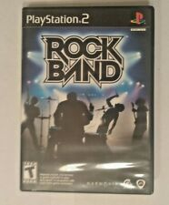 Rock Band PS2 Playstation 2 Game With Case And Manual