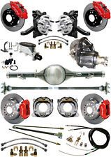 "NEW 2.5"" DROP WILWOOD BRAKE & CURRIE REAR END SET,POSI,71-87 C10,custom listing"